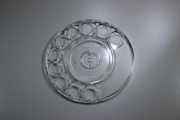 GPO Transparent Rotary Telephone Finger Dial